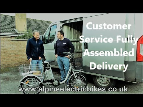 Mobility Trike e trike Fully Assembled Delivery (Personal Customer Service)