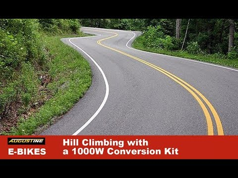 Hill Climbing with a 1000W Conversion Kit
