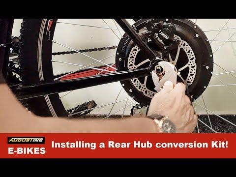 Electric Bikes. Installing a Rear Hub conversion Kit!
