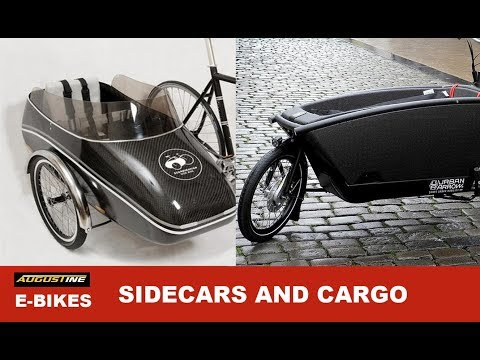 E-bike Addons SIDECARS AND CARGO