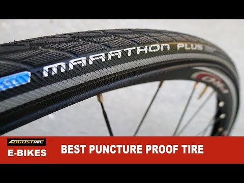 The BEST E-Bike Puncture Proof Tire