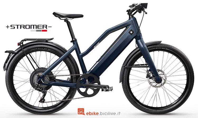 Una speed ebike Stromer ST1X Comfort della gamma 2018