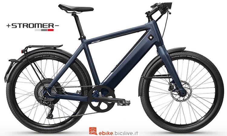 Una bici a pedalata assistita Stromer ST1X EPAC Sport del catalogo 2018