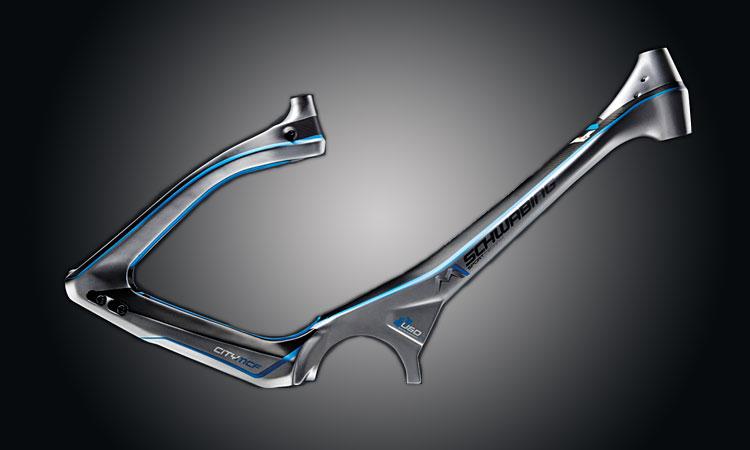 telaio in carbonio delle bici elettriche Sport Technik