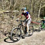 TowWhee – das perfekte Abschleppseil für (E-) Mountainbiker und Bikekids – Testbericht!