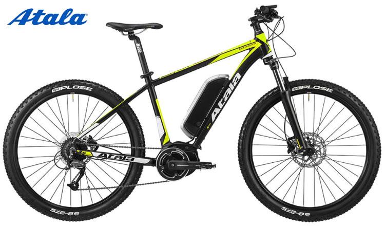 Una bicicletta a pedalata assistita Atala B-Cross 400 AM80 della gamma 2018