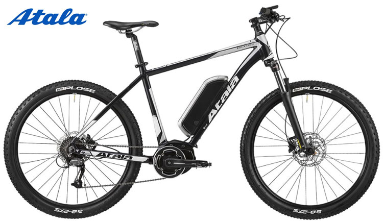 Una bici elettrica Atala B-Cross 400 AM80 del catalogo 2018