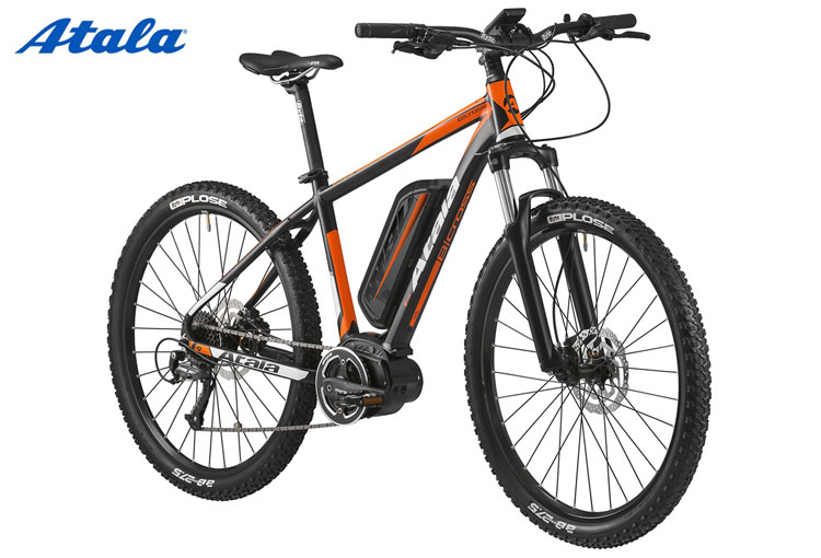Una mountain bike elettrica Atala B-Cross 400 AM80 2018