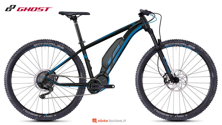 Una mountain bike a pedalata assistita Hybride Kato S3.9 AL