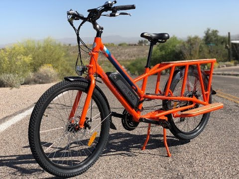 Rad Power Bikes RadWagon Electric Cargo Bike Review | Electric Bike Report