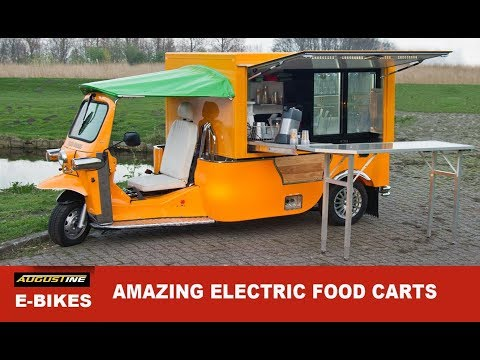 Amazing Electric Food Carts from around the world