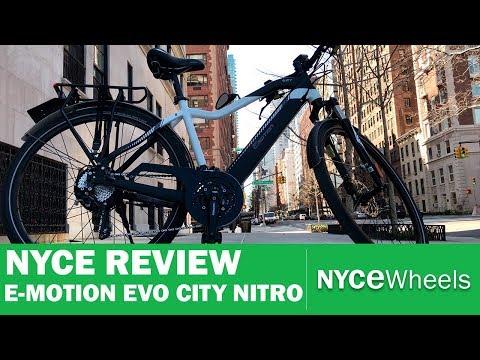 Easy Motion Evo City Nitro | Class 3 Speed Pedelec Review | $3499