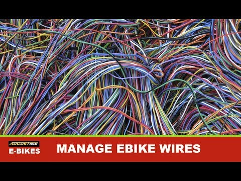 Tips for managing your Ebike's wires