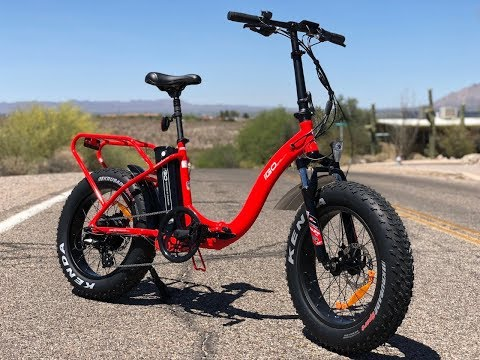 iGo Fat Folding Electric Bike Review | Electric Bike Report