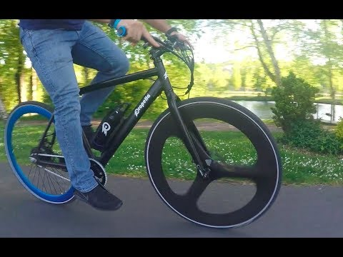 20 Seconds of Fun with Propella Electric Bike - Seattle, WA