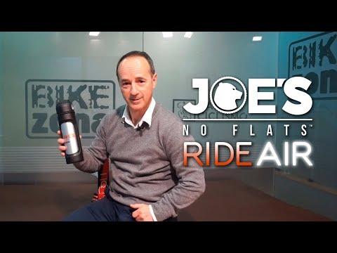 Inflando una FATBIKE en un segundo con el RIDEAIR de JOE'S NO FLATS
