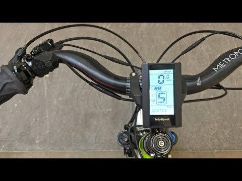 Bafang C965 Electric Bike Display Settings
