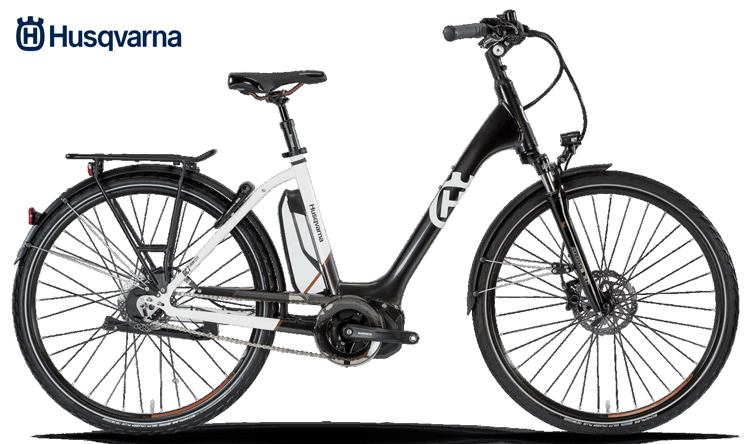 Una city ebike Husqvarna GC7 del catalogo 2018