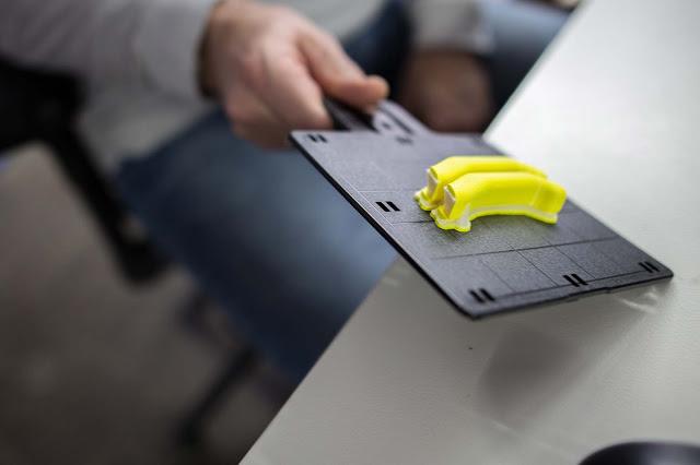 Durch die Produktion im 3D-Drucker können unterschiedliche Formen produziert werden - eckig, rund, lang, kurz.