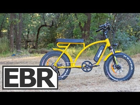 AddMotoR MOTAN M-60 Video Review - $1.6k Retro Fat Tire, Super 73 Clone Ebike
