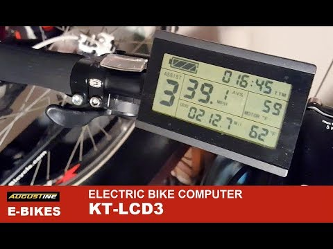 20 important functions: KT LCD3 onboard computer for Sondors and other Ebikes