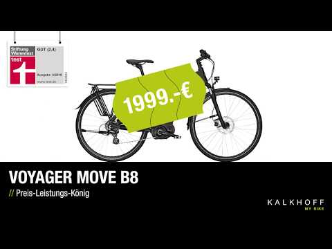 🥇 Stiftung Warentest | VOYAGER Move B8 🥇