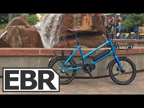 Ariel Rider M-Class Video Review - Compact, Cheap, Cargo Electric Bike