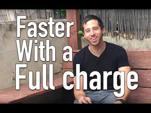 Make your ebike or esk8 go faster with a full charge?