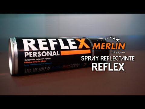 Spray de visibilidad nocturna REFLEX de Merlin Bike Care