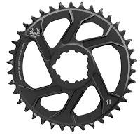 Das Kettenblatt ist für den Einsatz in e-Bikes geeignet, da es aus gestanztem Stahl ist.
