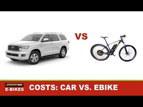 COST COMPARISON: Car vs Ebike