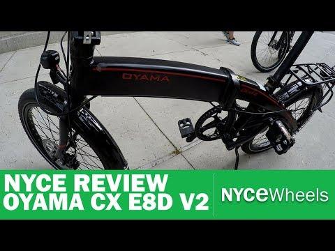 OYAMA CX E8D Version 2 Review | Electric BIke Review