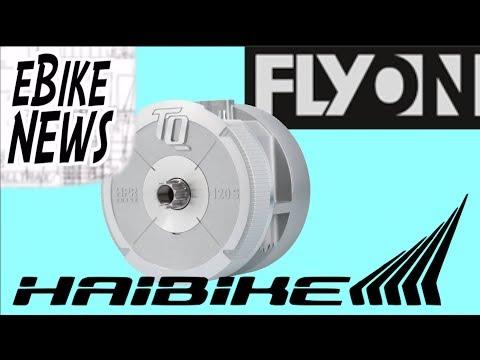 eBike News: Haibike FLYON w/ TQ 120nm Motor!