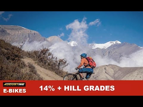 Climbing14% Hill Grades and higher on your EBIKE