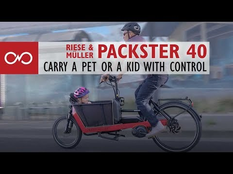 Review: Riese & Müller Packster 40 Electric Bike