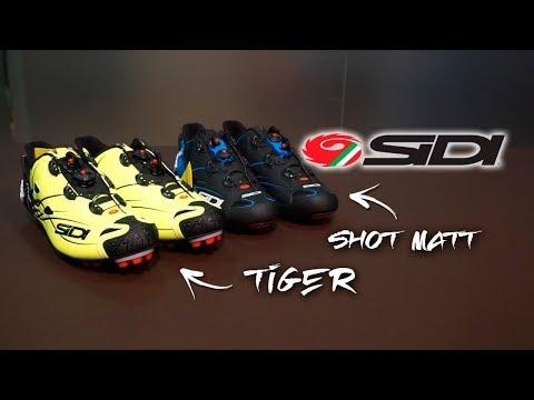 Espectaculares zapatillas SIDI Tiger y Shot Matt