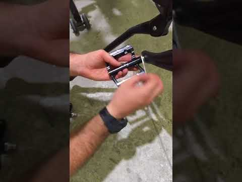 How to: Install a Pedal on Delfast Electric Bicycle