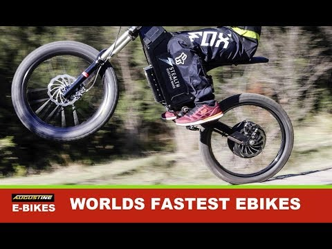 Some of the World's fastest Ebikes
