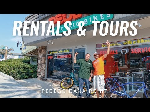 Electric Bike Rentals and Tours | Dana Point, California | Pedego Dana Point