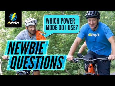 New To Electric Mountain Biking? | Common E Bike Questions Answered