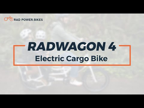 RadWagon 4 Electric Cargo Bike | Technical Overview