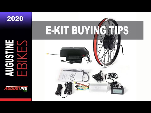 E bikes 2020: Conversion Kit Buying Tips. Ebike Kit + Battery