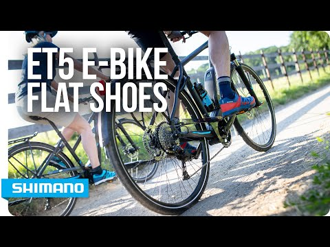 Meet Shimano's ET5 performance-driven E-bike flat shoes  | SHIMANO