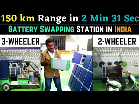 Battery Swapping Electric Vehicles Technology in India | Sun Mobility