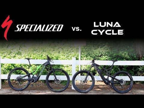 Luna X1 Enduro Vs Specialized Turbo Levo Carbon Ebikes Head to Head Review