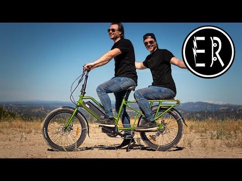 The PERFECT 2-PERSON PASSENGER family wagon e-bike! Eunorau G20 Cargo electric bike review 2020