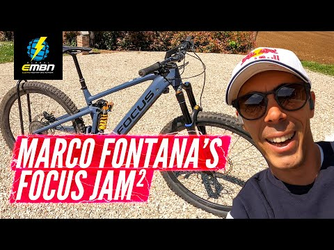 Marco Fontana's Focus Jam2 – The Olympians E-Bike | EMBN Pro Bike Check