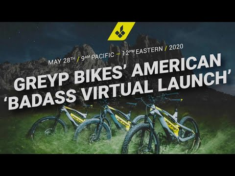 Greyp Bikes American Badass Virtual Launch