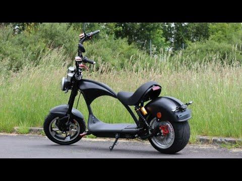 ElektroRoller r804 m3 citycoco scooter 3000w EEC COC unboxing