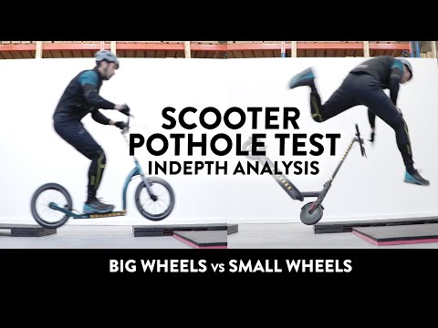 Scooter Pothole Test – Big Wheels vs Small Wheels